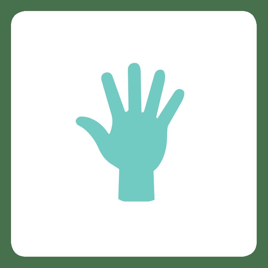 Icon for braces personalization
